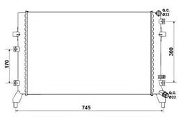 MOTOR RADYATORU GOLF V - VI OCTAVIA A3 RAPID SUPERB 1, 21, 4TSI 07 - >