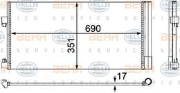 KLIMA RADYATORU (KONDENSER) 08> LAGUNA. III 1. 5dci - 2. 0dci