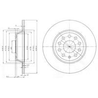 FREN DISKI ARKA (VW: GOLF VI - PASSAT 1. 4TSI 1. 6 2. 0TDI TIGUAN 1. 4TSI 2. 0TDI )