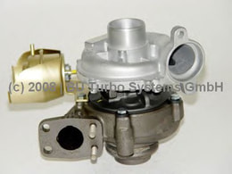 TURBO KOMPLE P206-P207-P307-P308-P407-PARTNER-BERLIN-C3-C4-SCUDU-FOCUS-CMAX 1.6 HDI(110PS)(135983420