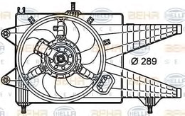 FAN MOTORU 1. 3 JTD AC IDEA - PUNTO