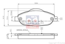 FREN BALATASI ÖN - 308 (T9)C4 B. M - Model Yılı: 14 -