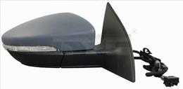DIŞ DİKİZ AYNA : R ELEKTRİKLİ - JETTA VM - 6381EHPR  - Model Yılı: 10 -