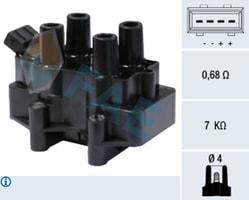 ATESLEME BOBINI VECTRA B - ASTRA F - OMEGA B - VECTRA A - X20XEV - X18XE