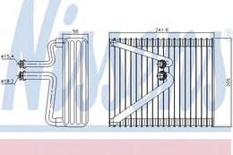 EVAPORATOR (FIAT: DOBLO MPV  - PUNTO  1.3JTD 1.9 JTD  00-12)