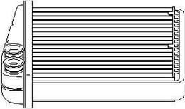 KALORIFER RADYATÖRU BRAZING CADDY III - GOLF V - VI - JETTA III - OCTAVIA - TOURAN - ALTEA - LEON - A3 - Q3 - TOLEDO